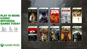 Gry Bethesdy w Xbox Game Pass