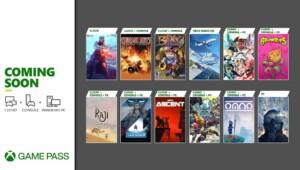 Gry Xbox Game Pass lipiec